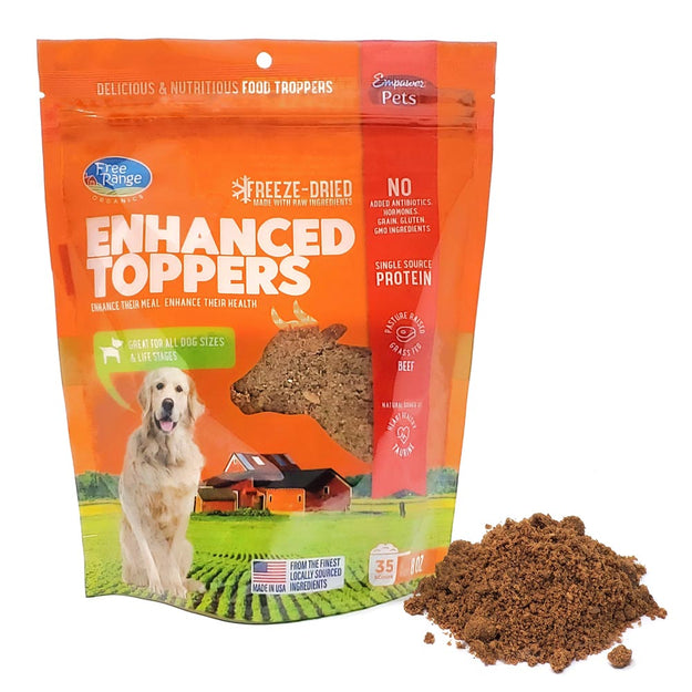 Beef Dog Food Topper
