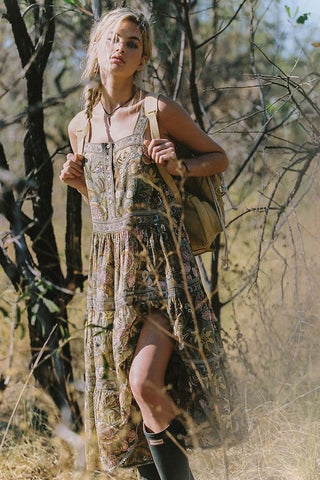 Jungle Midi Sundress