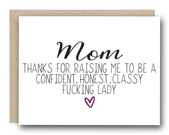Mother's Day Classy Greeting Card
