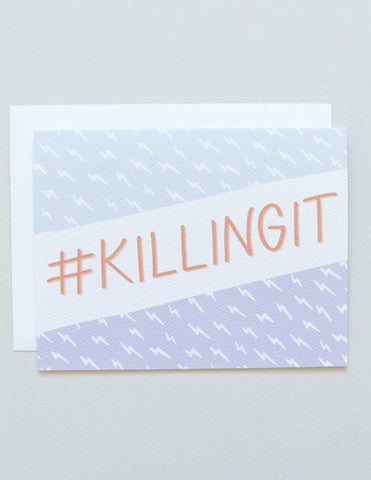 Killingit Greeting Card