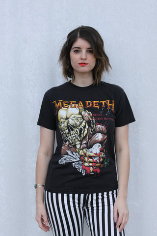 1987 Megadeth Peace Sells Tee