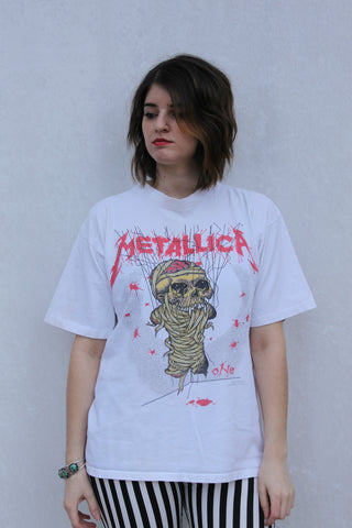 1989 Metallica Landmine Pushead Shirt