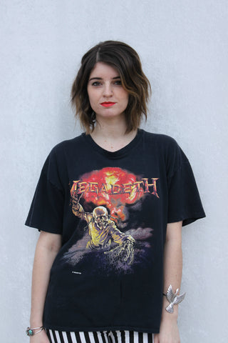 1987 Megadeth Unit of Measure Tee