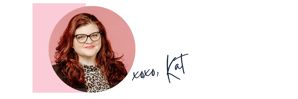 XO Marshmallow CO Founder, Kat Connor's end signature for the blog