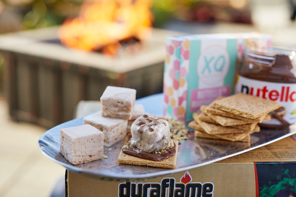 XO Marshmallow and Duraflame create a s'mores cookbook