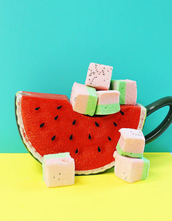 Marshmallow of the Month: Watermelon Marshmallows (set of 12)