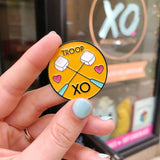 Troop XO Enamel Pin