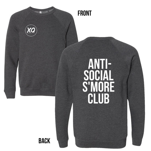 Anti Social S'more Club Charity Sweater