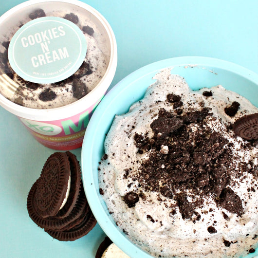 Cookies and Cream OMG (Ooey Marshmallow Goodness)