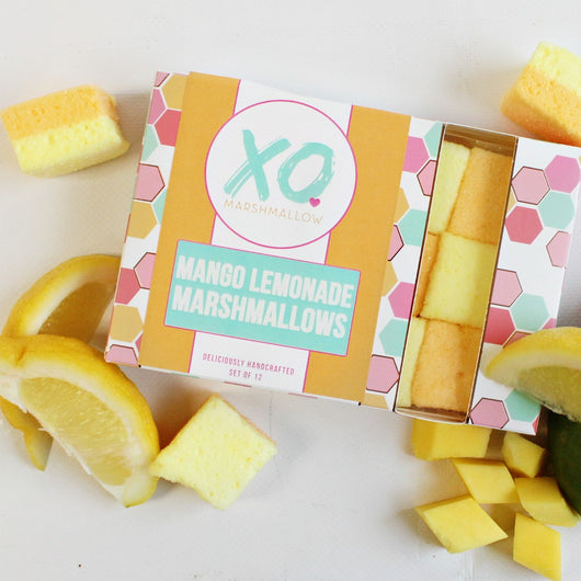 Marshmallow of the Month: Sour Mango Lemonade Marshmallows (set of 12)