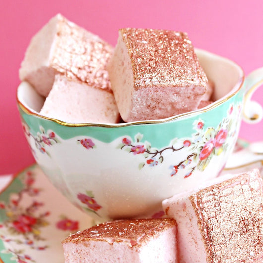 Rose Gold Rosé Marshmallows (set of 12)