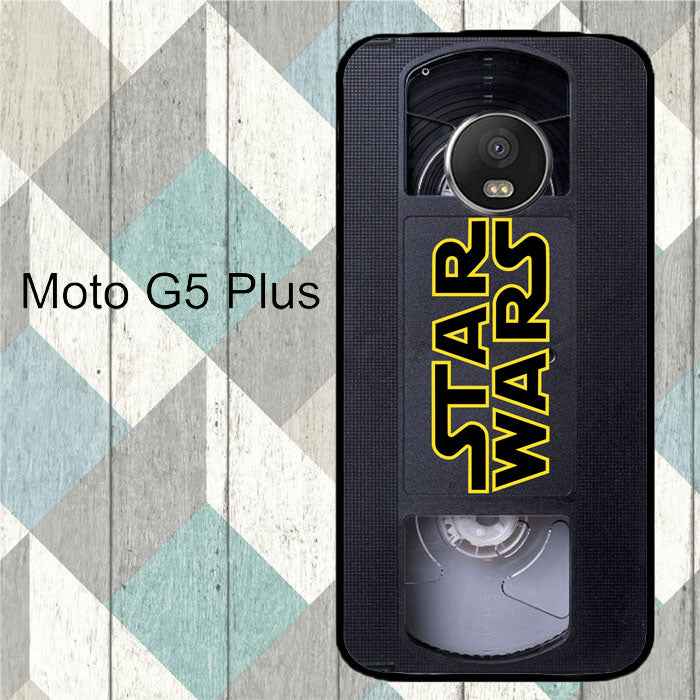 star wars vhs tape hard x4873 motorola moto g5 plus case copypixlr. Black Bedroom Furniture Sets. Home Design Ideas