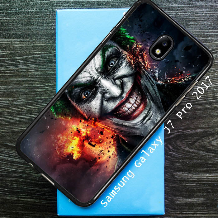Batman Joker Wallpaper Y0469 Samsung Galaxy J7 Pro 2017 Sm J730 Case