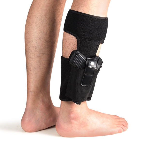 Lirisy Ankle Holster for Concealed Carry | Non-Slip with Calf Strap Holster