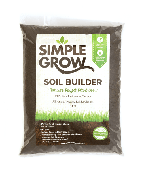 2lb Bag of Simple Grow Worm Castings - simplegrowsoil
