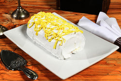Lemon Cream Cake Roll - SugarFreeMarkets