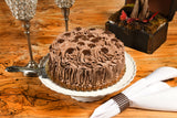 "9"" Whole 2-layers Chocolate Cake - SugarFreeMarkets"