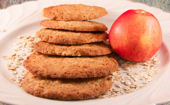 6 Oatmeal Apple Cookies