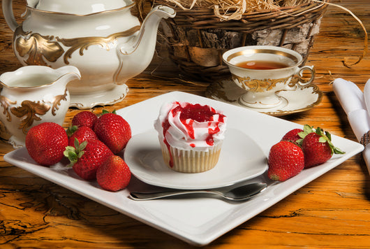 4x Strawberry Cupcake - SugarFreeMarkets