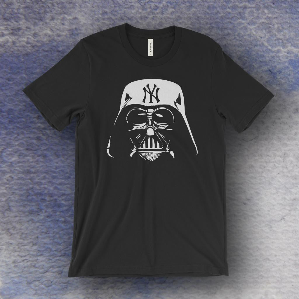 Evil Empire Darth Vader NY Yankees T-Shirt – Draw The Line Apparel b51275b9b22