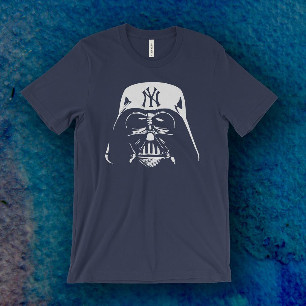 finest selection 098c8 40c71 Evil Empire Darth Vader NY Yankees T-Shirt – Draw The Line Apparel
