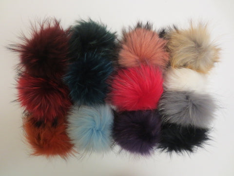 Accessories - Detachable Fur Poms