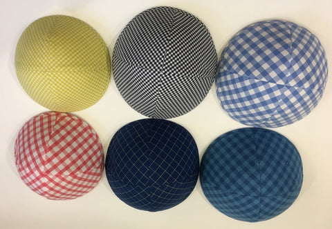 Checkered/Gingham Kippah