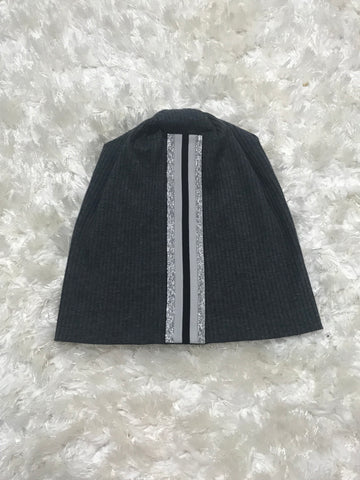 Thick Active Stripe - Ribbed Cotton Beanie
