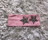 Rhinestone Star Wide Cotton Headband