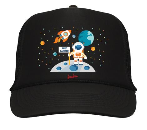 Bubu - Just Landed Black / Black Trucker Hat