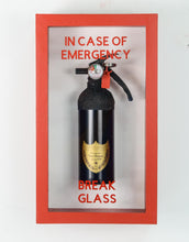In Case of Emergency Break Glass - Champagne Fire Extinguishers  - Compact Edition.
