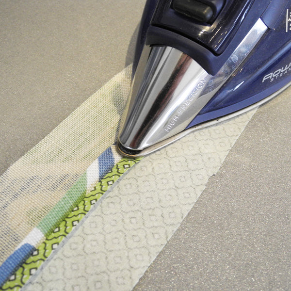 Ironing seam open