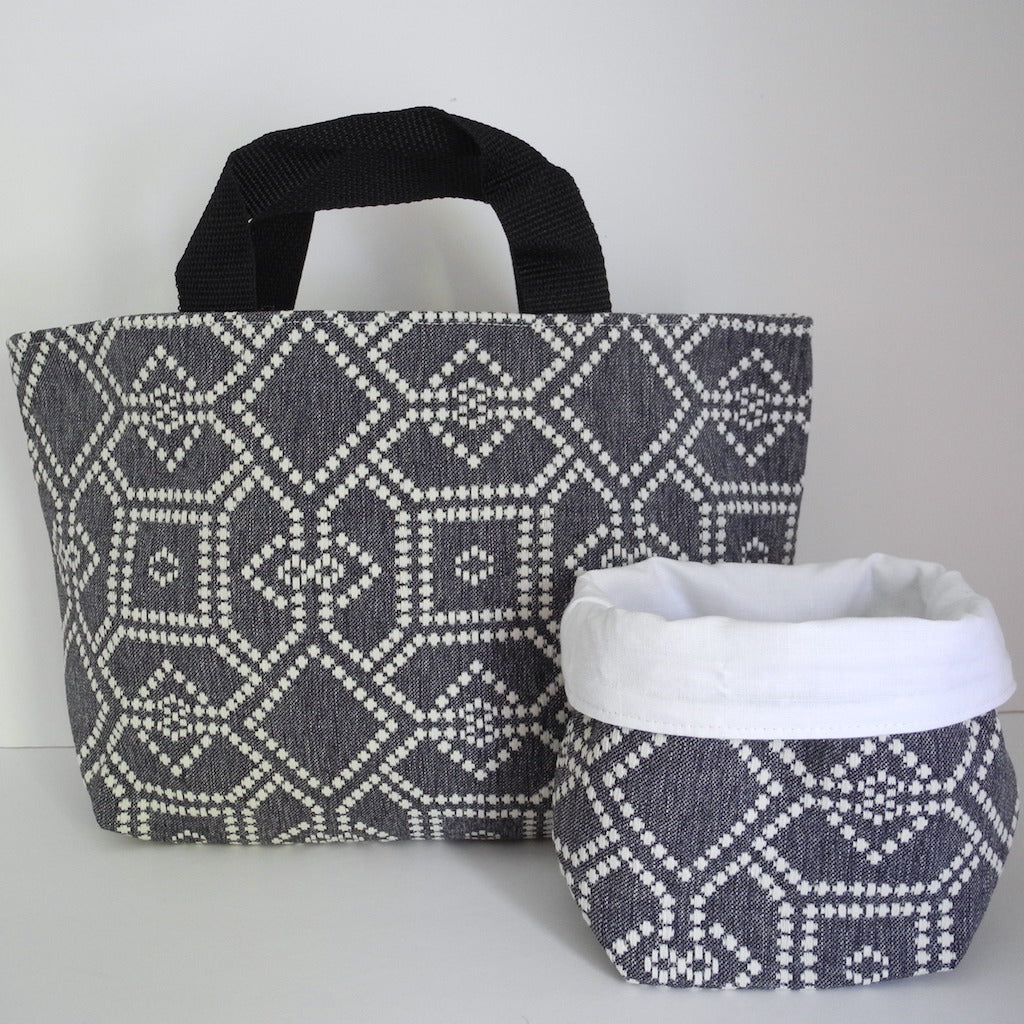 Knitting Basket - 2 Piece Set