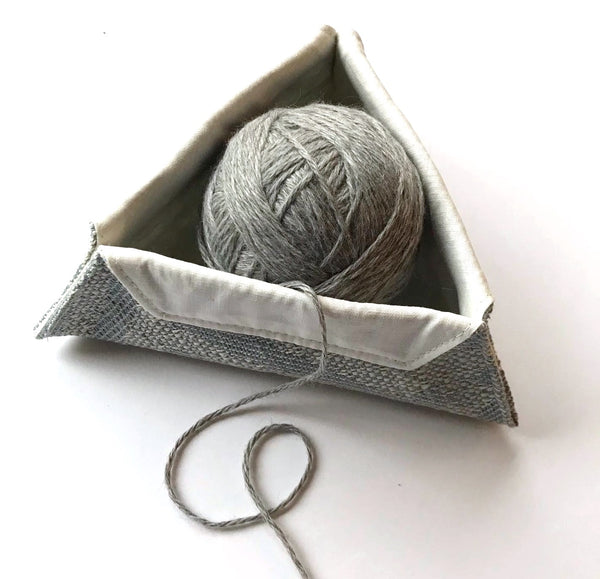 Triangular Yarn Bowl