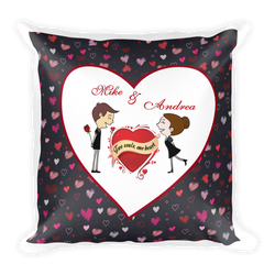 Two Souls One Heart Pillow