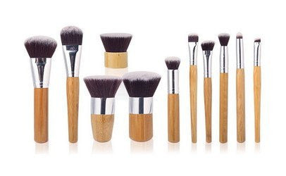 Makeup Set - Professional 11 Pcs Makeup Brushes
