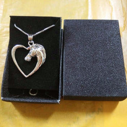 Free Horse in the Heart Necklace
