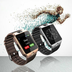 Unisex Bluetooth Smartwatch Compatible with IOS and Android Phones