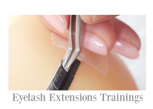 No 1 Eyelash Extensions Trainings