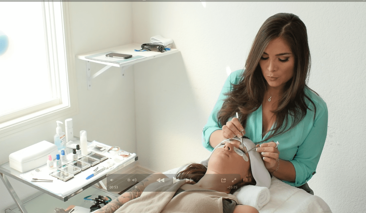 Online Training In Classic Volume And Eyebrow Extensions Lash Blvd