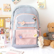 College style Japanese cute backpack yv43328
