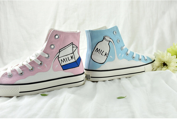Literary style shoes YV90051