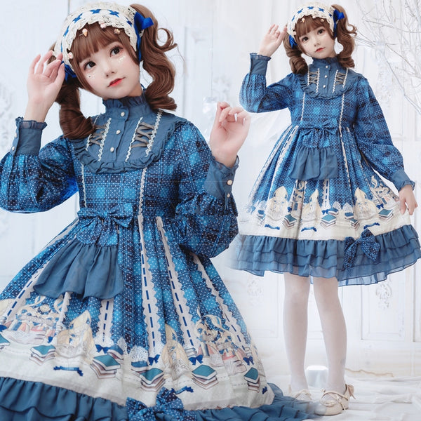 Lolita retro palace style dress yv43290