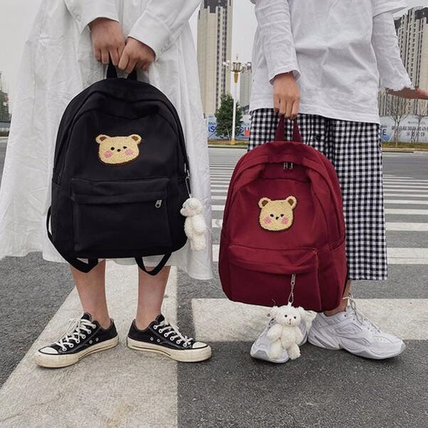 Fashion cute cartoon bear pattern backpack yv43279