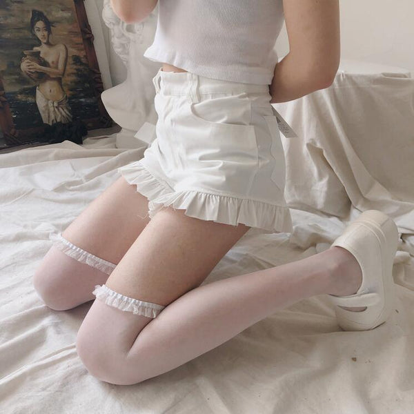 lolita cute summer lace socks yv43222