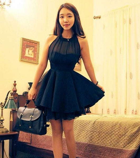 Sleeveless Chiffon Dress YV504