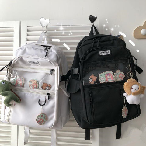 Harajuku style fashion backpack yv43132