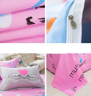 CuteKawaii Pastel Paws Bedding Sheet 4 pcs bed Set YV5093