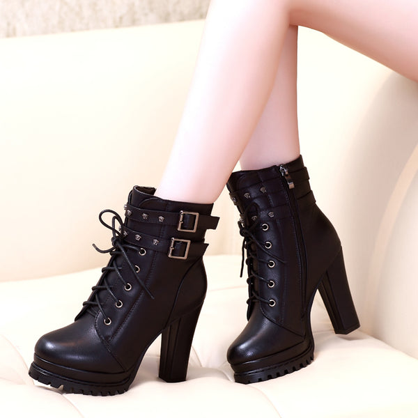 Fashion autumn/winter high heel boots yv43404
