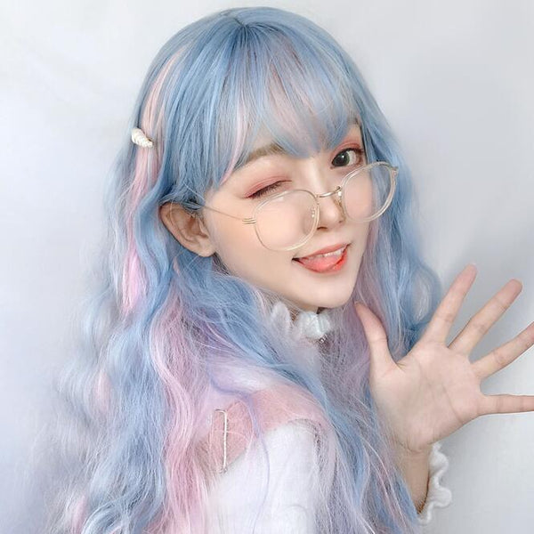 lolita cute mixed color wig yv43118